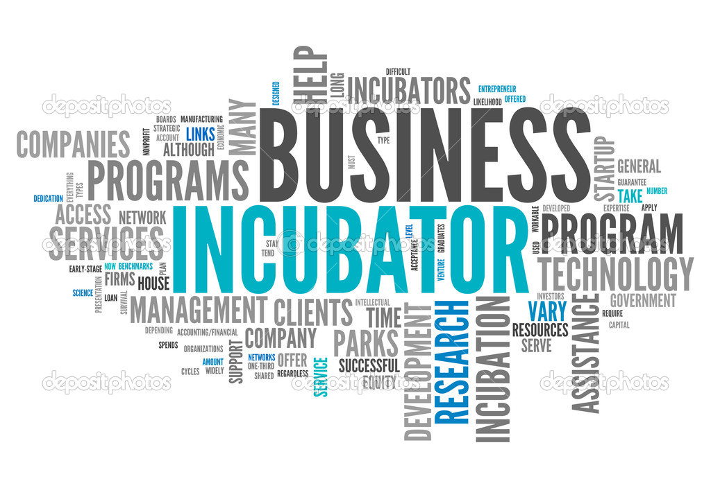 Word Cloud with Business Incubator related tags